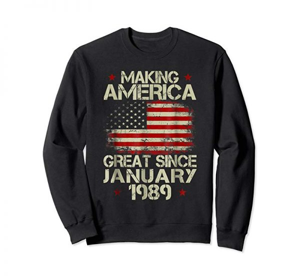 Buy Now January 1989 30 Years Old 30th Birthday Gift 1989 Yrs Shirt