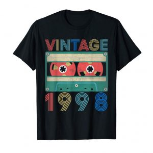 Buy 1998 Vintage 21st Birthday Gifts T-shirt Decorations Him Her