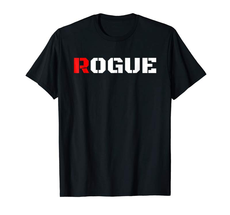 Get Rogue Bad Boy T Shirt Gaming Gamer Humor Tshirt Military Tee