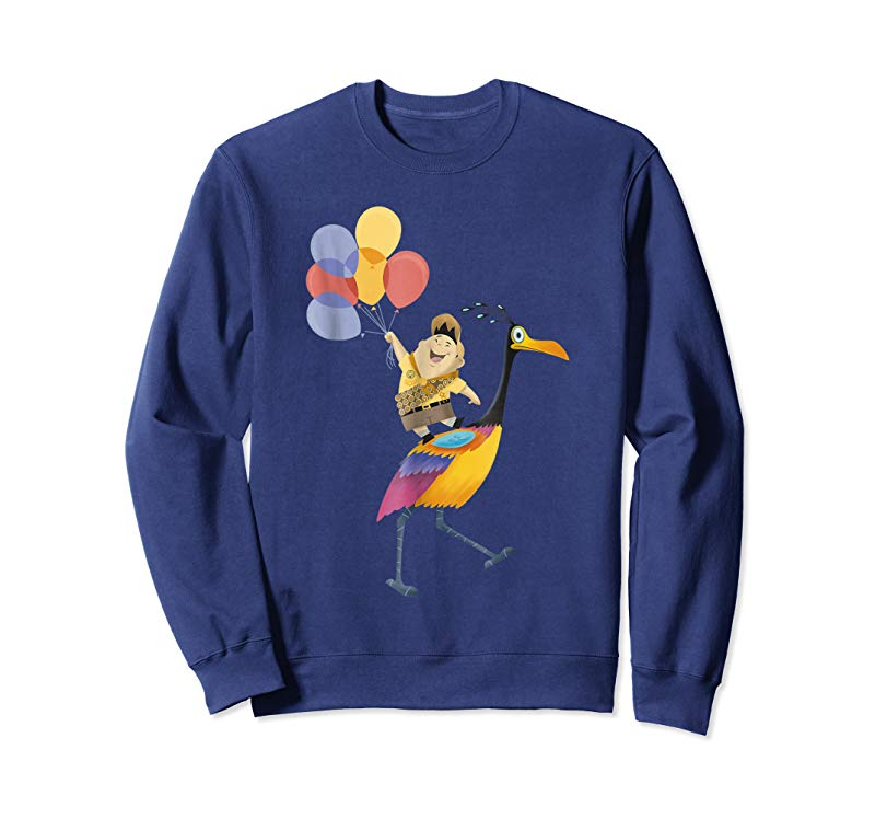 Get Disney Pixar Up Russell Balloons On Kevin Graphic T-Shirt