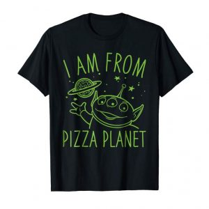Buy Now Disney Pixar Toy Story Neon Green Alien Pizza Planet T-Shirt