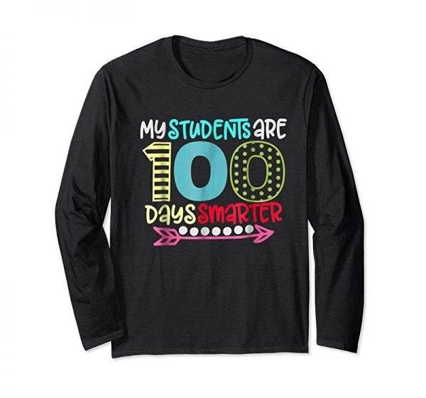 Buy My Students Are 100 Days Smarter Shirt