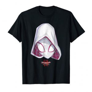 Order Marvel Spider-Gwen Spiderverse Mask Graphic T-Shirt