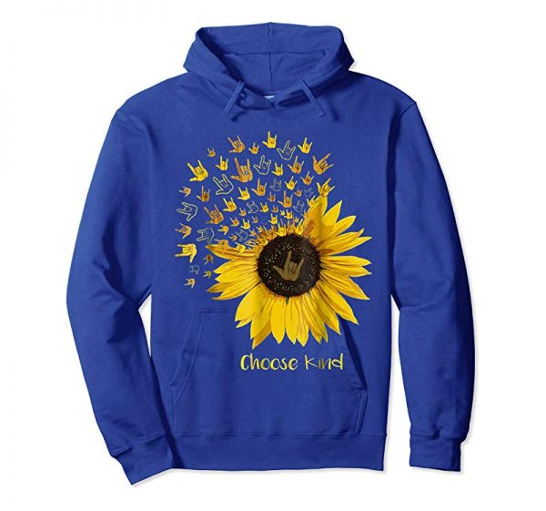 Trending Choose Kind Sunflower Deaf Tshirt