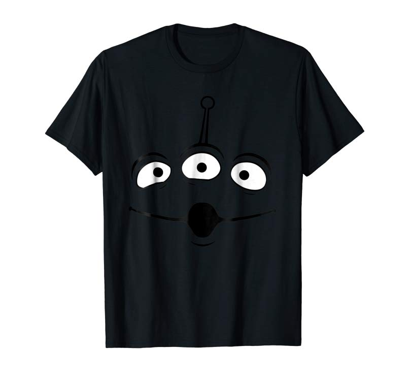 Trending Disney Pixar Toy Story Alien Face Halloween Graphic T-Shirt