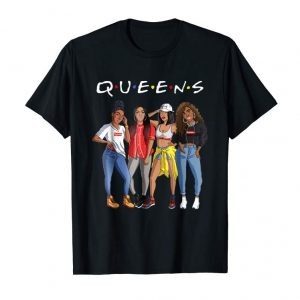 Get Now Afro Queens Black Girls T-shirt And Gift