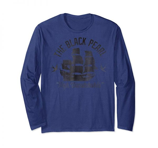 Buy Now Disney Pirates Of The Caribbean Untouchable Black Pearl T-sh