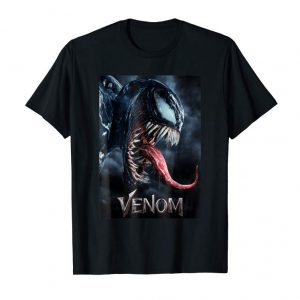 Get Now Marvel Venom Tongue Out Poster Graphic T-Shirt