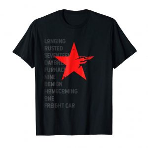 Cool Red Soldier Trigger Words Winter Star Hero T-Shirt