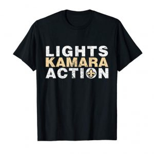 Get Lights Kamara Action Saint Football New Orleans Tee