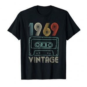 Trending 50th Birthday Gift Vintage 1969 For Men And Woman T-Shirt