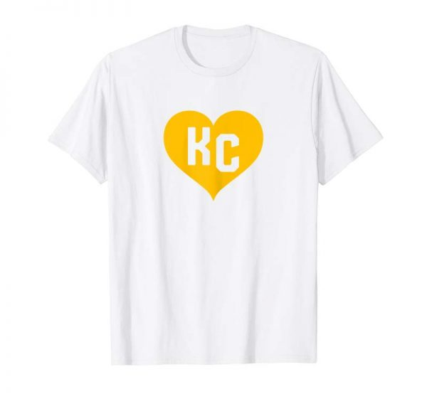 Get Now Womens Cute I Love Kansas City Heart KC Football Shirt