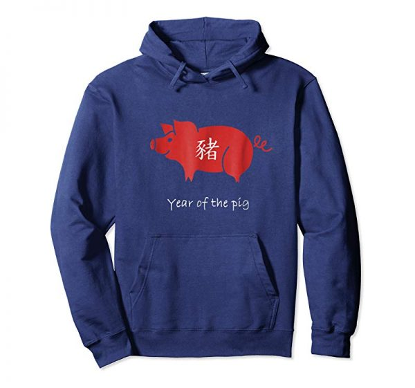 Buy Now Chinese New Year 2019 Symbol T-shirt The Year Of The Pig Red