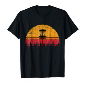 Order Now Vintage Retro Frolf Frisbee Disc Golf T-shirt Tee Gift