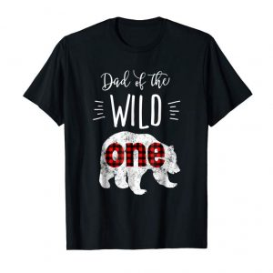 Get Now Mens Dad Of The Wild One Shirt Bear Lumberjack 1st Birthday Tee