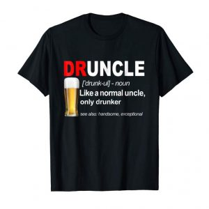 Buy Druncle Beer Funny Tshirt Gift For Men
