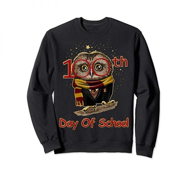 Trending Cute Owl 100th Day Of School T-shirt 100 Days Smarter Tee