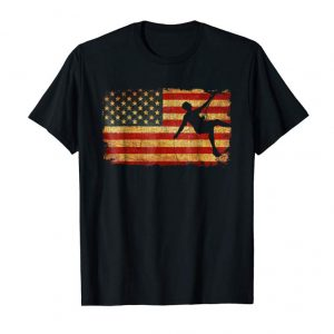 Order Now Vintage US Flag Rock Climbing T Shirt Mountain Climber Shirt