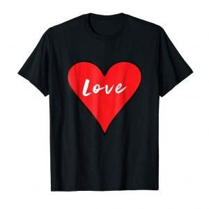 Order Now Love Big Heart Red Valentine's Day T-Shirt