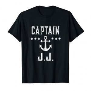 Order Now Vintage Captain JJ T-Shirt Family Cruise Or Lake Boat Tee