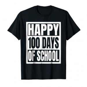 Trends Happy 100th Day Of School Shirt For Teacher & Kid T-Shirt