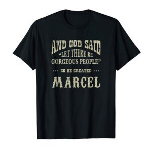 Buy Now Personalized Birthday Gift For Person Named Marcel T Shirt