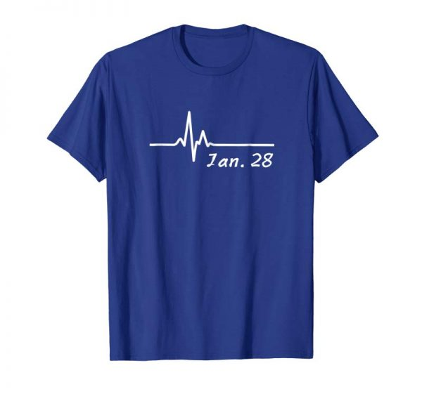 Get January 28th Anniversary Tshirt Birthday Couple Wedding Gift