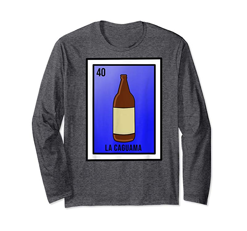ed951c01 Buy Funny Mexican Loteria Card Caguama Beer T Shirt - Tees.Design