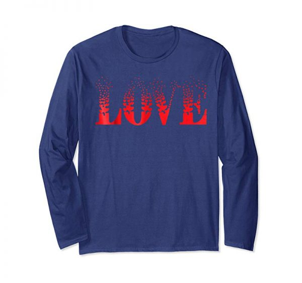 Trending Fun Valentines Day Shirt Love Hearts Tee Gift For Lovers