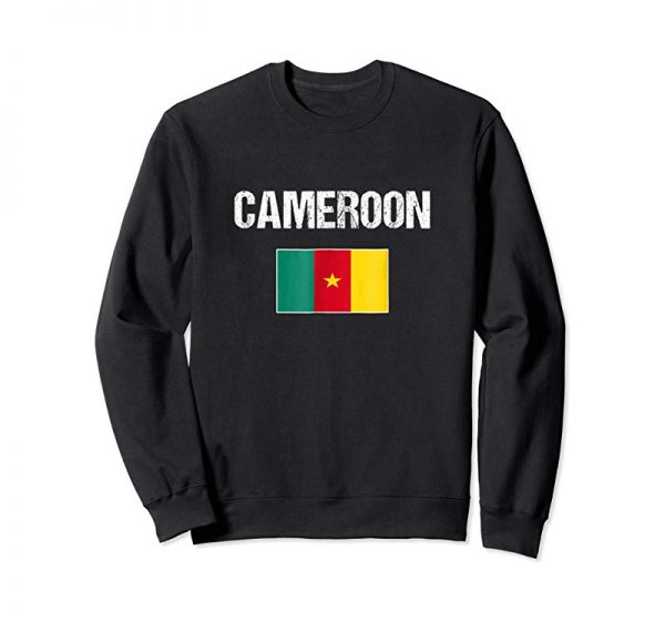 Cool Cameroon T-shirt Cameroonian Flag - For Men/Women/Youth/Kids