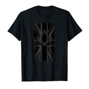 Buy Now Masonic Shirt Distressed UK Flag Square & Compass Freemason