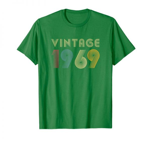 Buy 50th Birthday Gift Idea Vintage 1969 T-Shirt Distressed