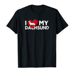 Order Now I Love My Dachsund - Cute Dachsund T-shirt