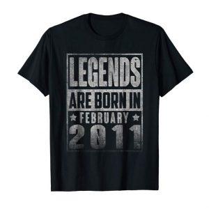 Buy Now Legends Born In FEBRUARY 2011 Straight Outta 8 Years Old
