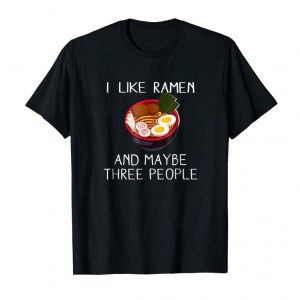 Get I Like Ramen Tshirt Kawaii Japanese Noodle Food Anime Gift