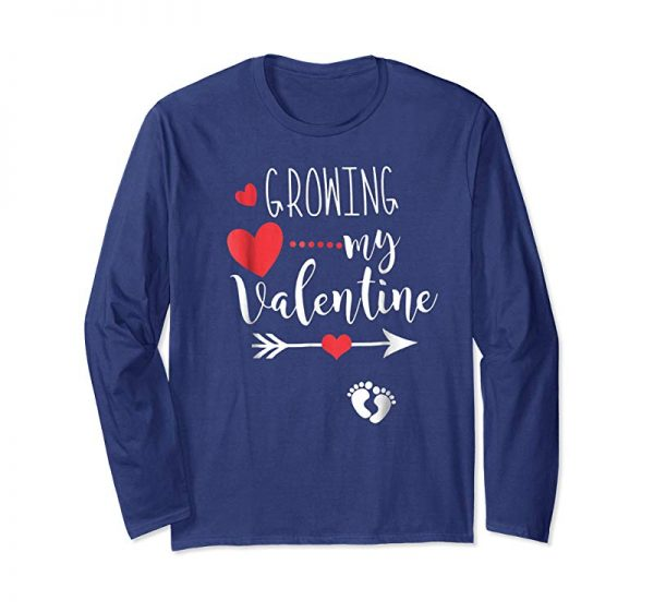 Cool Funny Growing My Valentine Shirt Gift For Wife