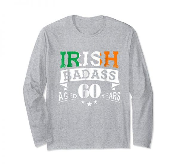 Trending 60th Irish Birthday Gifts T-Shirt Present For 60 Years Old