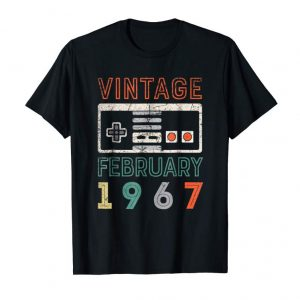 Cool Vintage February 1967 52nd Birthday Shirt 52 Year Old Shirt