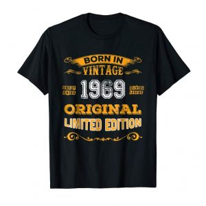 Get Now Made In 1969 Vintage 50th Yrs Old Birthday Shirt Gift TPA2