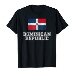 Trends Dominican Republic Flag Vintage I Men Women Kids T-Shirt