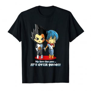 Get Now My Love For You Is Over 9000 Shirt