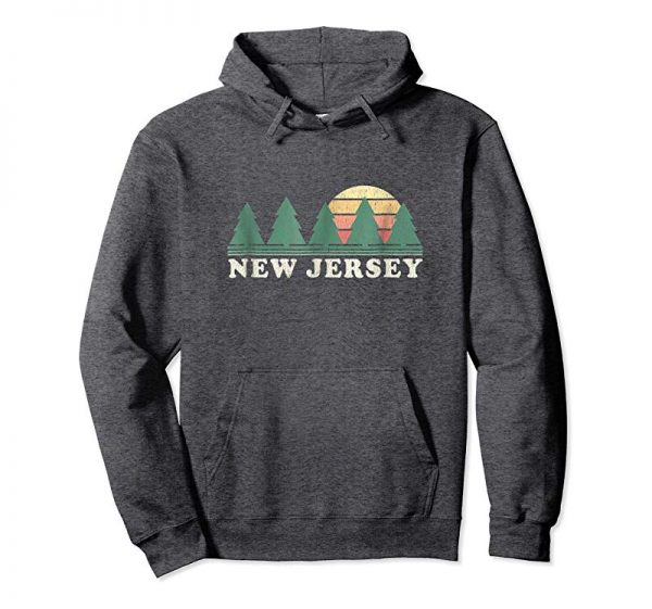 Buy Now New Jersey NJ T-Shirt Vintage Graphic Tee Retro 70s Design