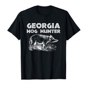 Cool Georgia Hog Hunter T-Shirt - Outdoor Hunting Gift Apparel