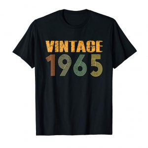 Buy Now 54th Birthday Gift Classic 1965 T-Shirt Vintage 54 Years Old