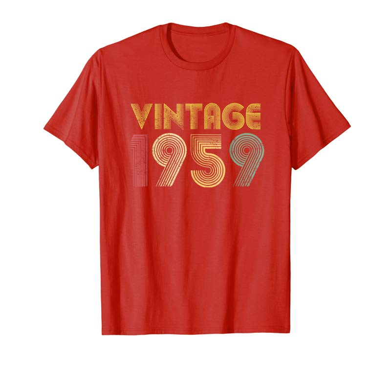 Order 60th Birthday Gift Vintage 1959 T Shirt Classic Men Women