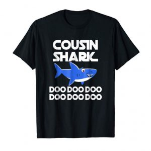 Cool Cousin Shark Doo Doo Doo T-Shirt | Matching Family Shirt