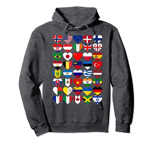 Trends Flags Of The Countries Of The World,International Gift Shirt