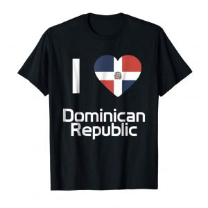 Order Now I Love Dominican Republic T-shirt Tee Tees T Shirt Tshirt