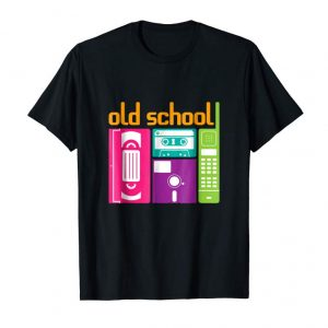Buy Now Old School 80s 90s Retro Tshirt - VHS, Cassette, Diskette