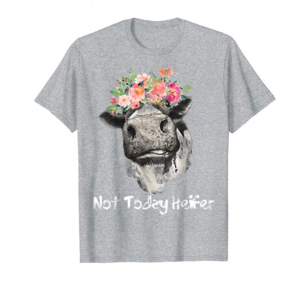 Cool Not Today Heifer T-Shirt Funny Farmer Cows Lover Gift Tee